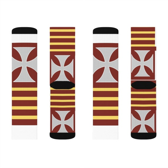 Saint Raymond Nonnatus Sublimation Socks