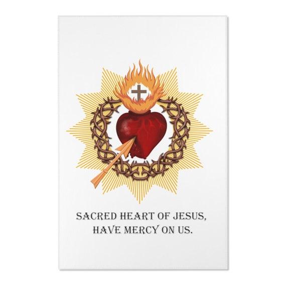 Sacred Heart Area Rugs
