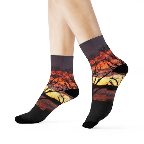 Sunrise Crew Socks