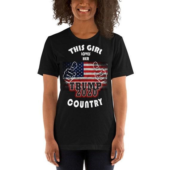 This Girl Loves Her Country Short-Sleeve Unisex T-Shirt