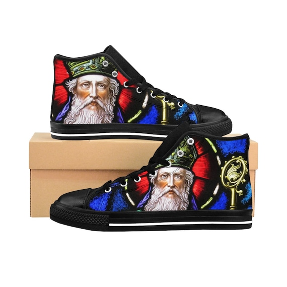 Saint Patrick II Men's High-tops (See foot chart before purchasing)