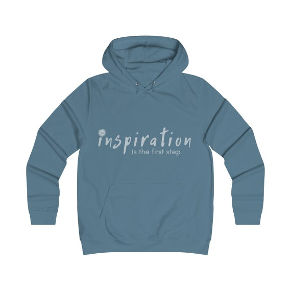 Inspiration Girlie College Hoodie (see description before purchasing)
