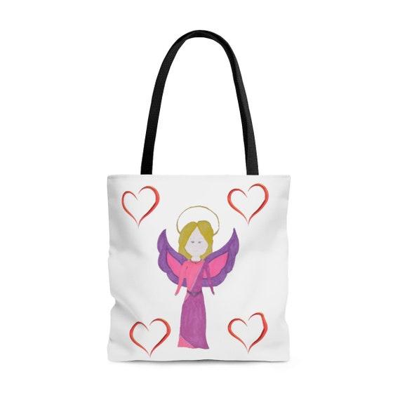 Angel AOP Tote Bag By Lai Lai