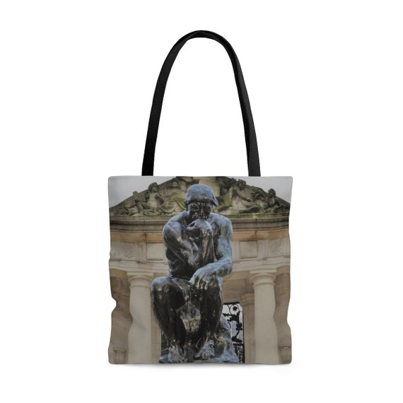 Philly Thinker (Rodin) AOP Tote Bag
