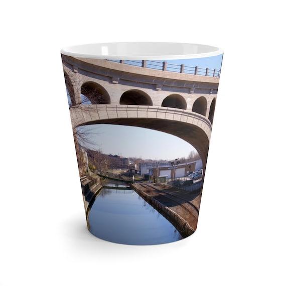 Manayunk Bridge Latte Mug