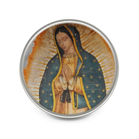 Guadalupe Metal Pin