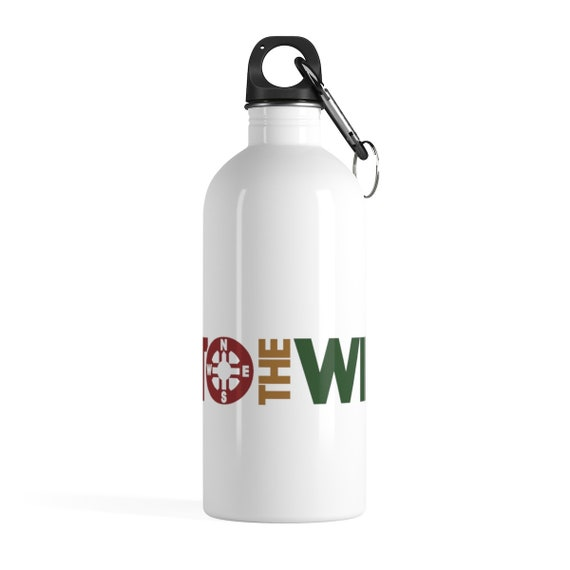 Into the Wild Stainless Steel Water Bottle