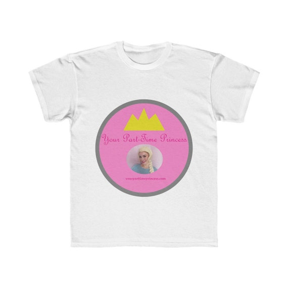 Your Part-Time Princess Kids Regular Fit Tee (see description before ordering)
