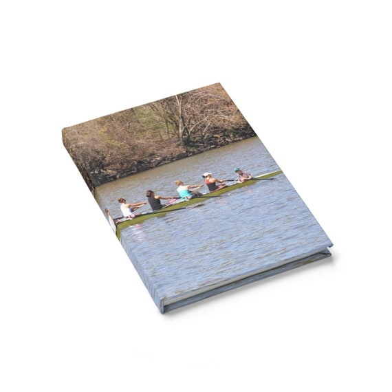 Rowing Journal  Ruled Line