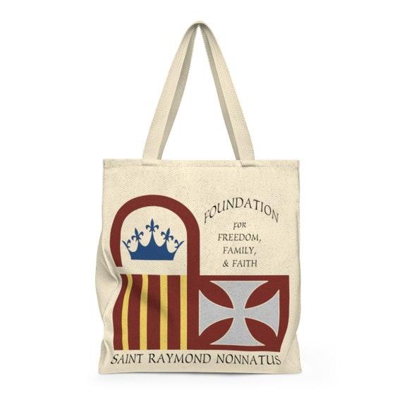 Saint Raymond Nonnatus Shoulder Tote Bag - Roomy