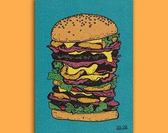 Mutant Meal (A3 art print)