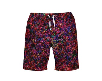 323eb7089d men's swim trunk very colorful portrait