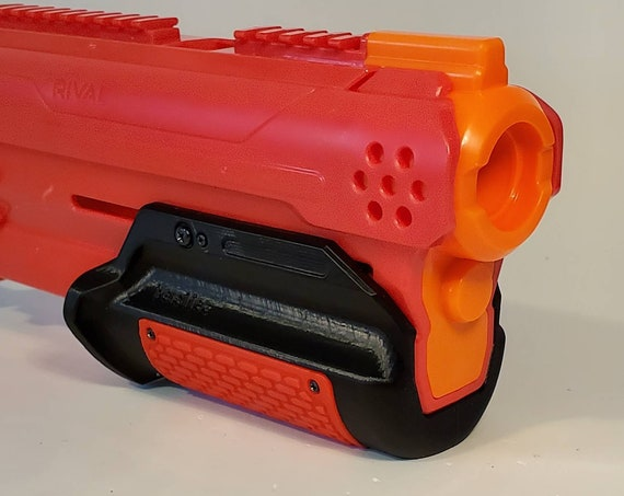 LTD VE - Lariat Takedown Valour Edition Pump Grip Nerf Mod for Nerf Rival Takedown