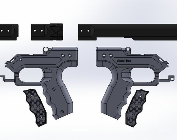 TTD - Tactical Takedown Pistol Grip STL Print Files - Instant Download