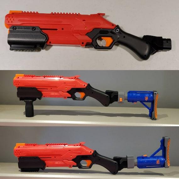 Nerf Takedown Stock Attachment Point Nerf Mod