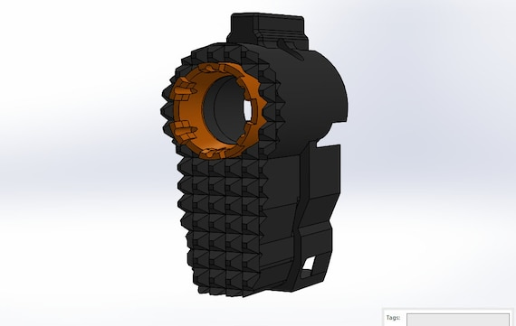 Breaker Barrel - Breaker Barrel Replacement for Nerf Takedown STL Print Files - Instant Download