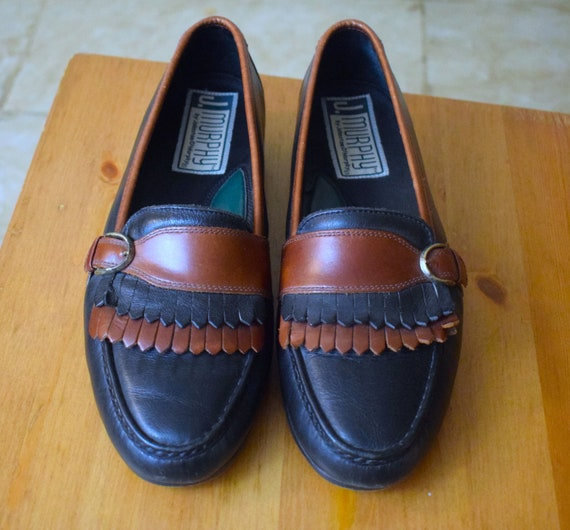 Oxford Loafers/1980's Men's Loafers/1980's Men's S