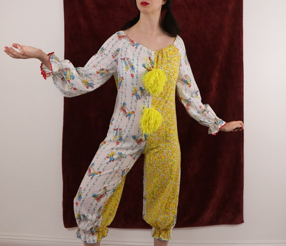 Vintage Clown Costume/70's Clown Costume/Holly Ho… - image 6