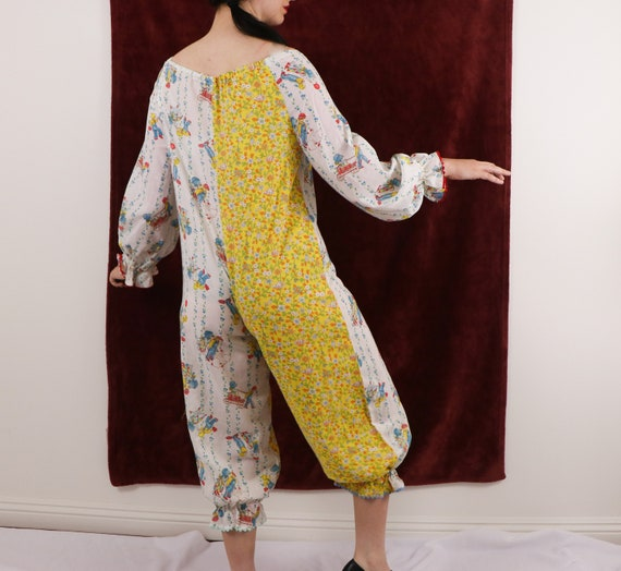 Vintage Clown Costume/70's Clown Costume/Holly Ho… - image 5