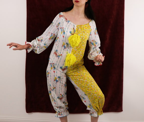 Vintage Clown Costume/70's Clown Costume/Holly Ho… - image 3