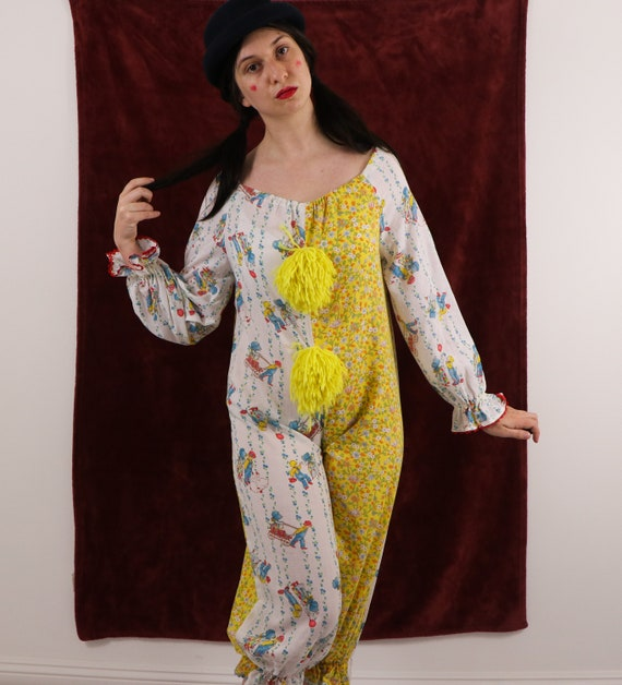 Vintage Clown Costume/70's Clown Costume/Holly Ho… - image 9