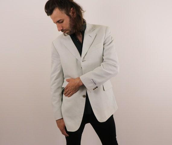 Men's Designer Blazer/Men's Minimalist Blazer/1990