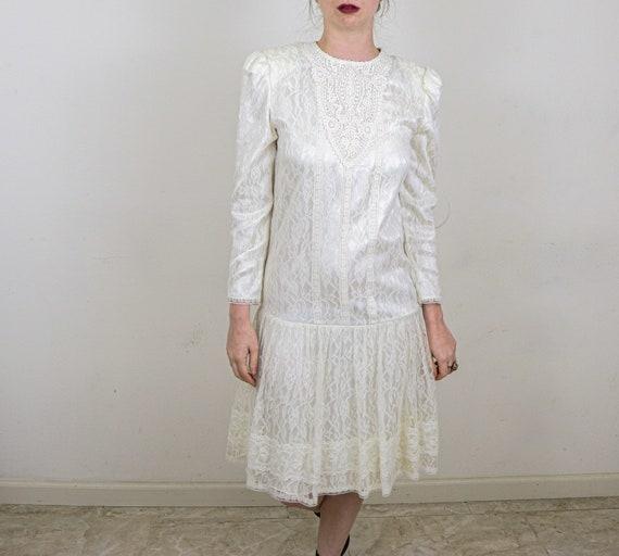 Gunne Sax Wedding Dress/Vintage Wedding Dress/Gunn