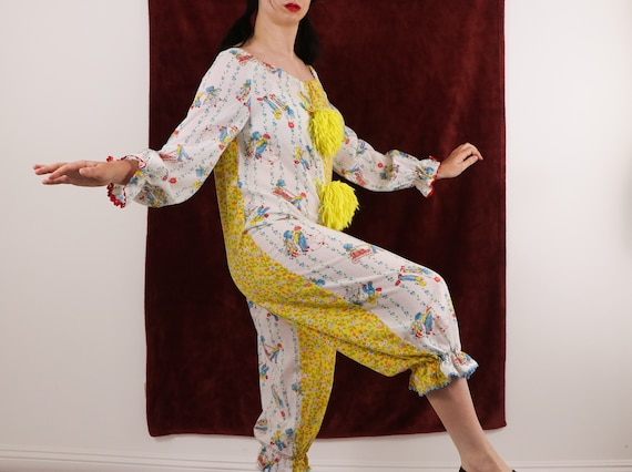 Vintage Clown Costume/70's Clown Costume/Holly Ho… - image 8