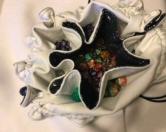 Custom Dice Bag: WITH POCKETS, Small-Extra Large