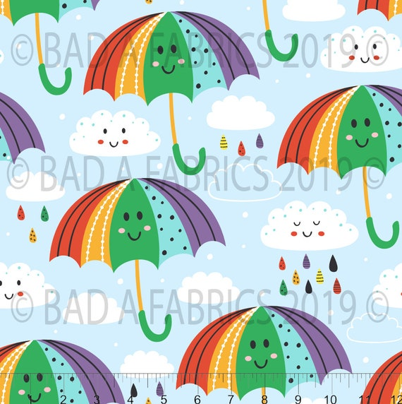 Rainbow Fabric Cotton Lycra St Patricks Day Fabric PUL Jersey Knit Spring Bamboo Fabric Rainbow Cubes Fabric Liverpool