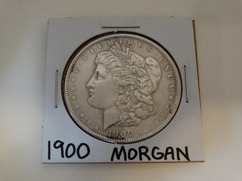 Philadelphia Mint 1900 Morgan Silver Dollar Inventory #J20