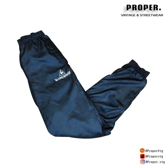 Le Coq Sportif Trackpants Windpants Cuffed | Navy