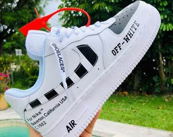bedd76376e1a0 Off white sneakers | Etsy