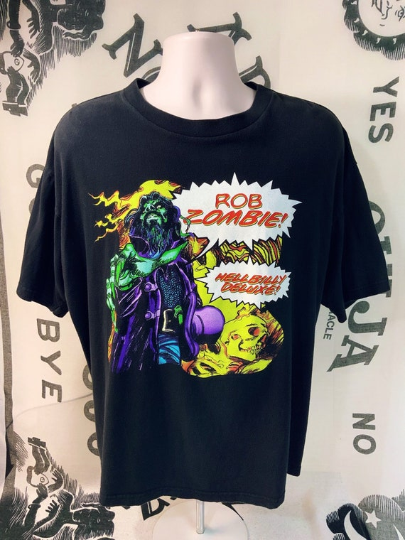 Rob Zombie, Hellbilly Deluxe, Vintage original T-S