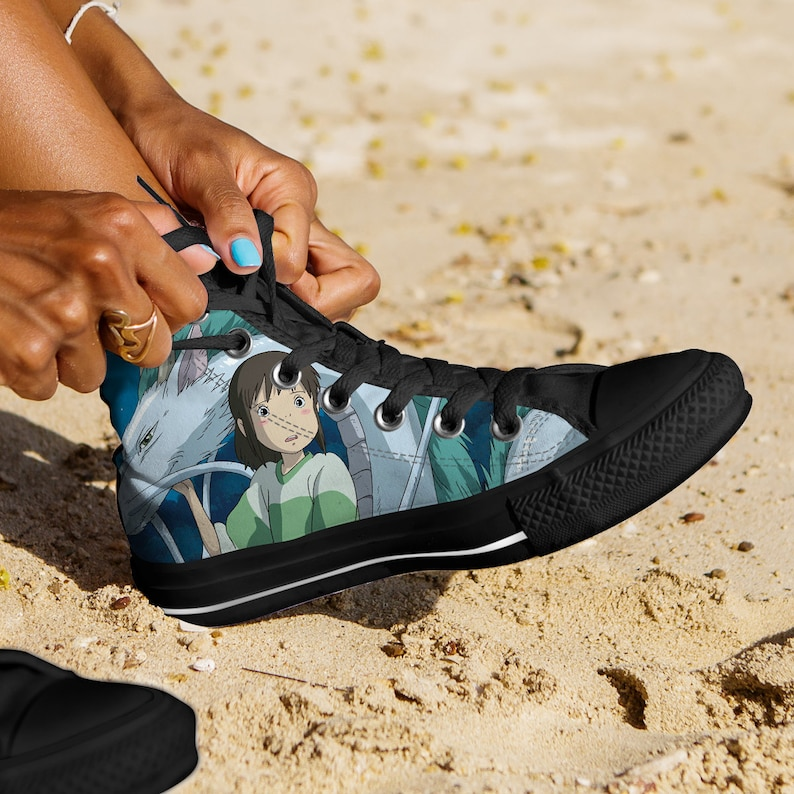Spirited Away Shoes Spirited Away Converse Style Shoes image 0