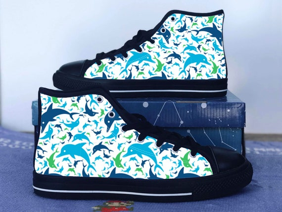 Dolphin Shoes Aquatic Converse Style