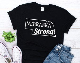 13007bd6 Nebraska Strong Shirt - Nebraska Unisex T-shirt