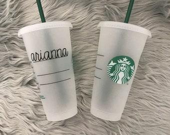 Starbucks Tumbler Etsy