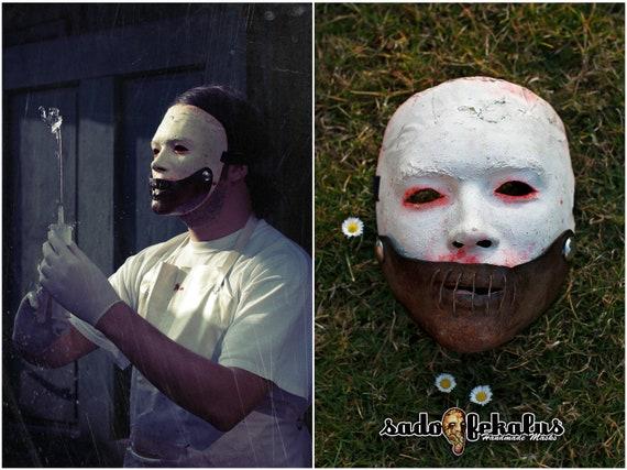 Mask Corn Joke scarecrow mask scary mask horror mask halloween mask full face mask