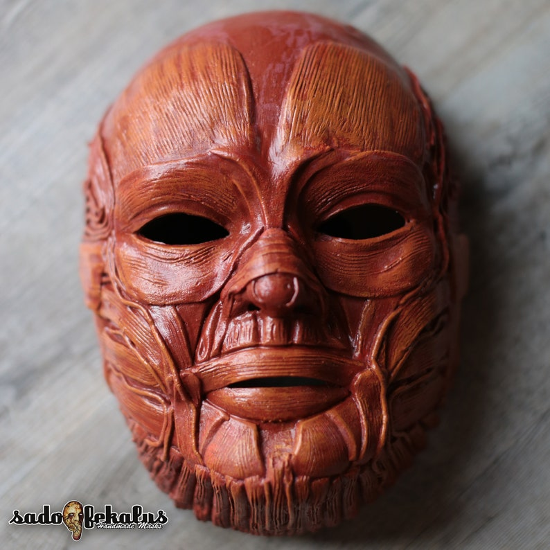 Horror Mask / Skinless Mask / Masquerade Mask / Halloween Mask / Creepy  Mask / Scary Mask / Freaky Mask / Gore Mask / Anatomy / Hellraiser