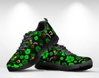 847b28ac7dbe0 Shamrock sneakers | Etsy