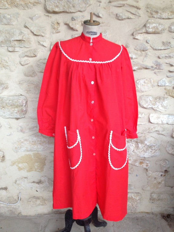Vintage Womans  Smock Overall 1940