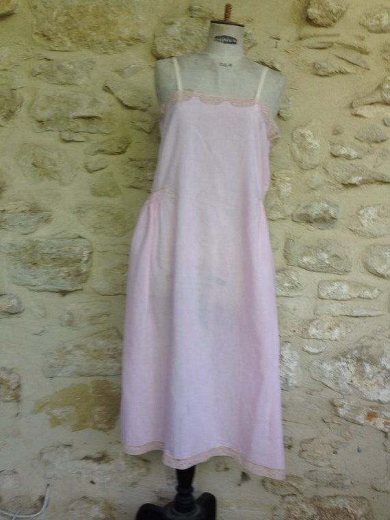 Antique french  camisole 1920s