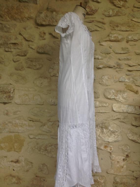 Antique french lingerie bridal trousseau 1900 gar… - image 5