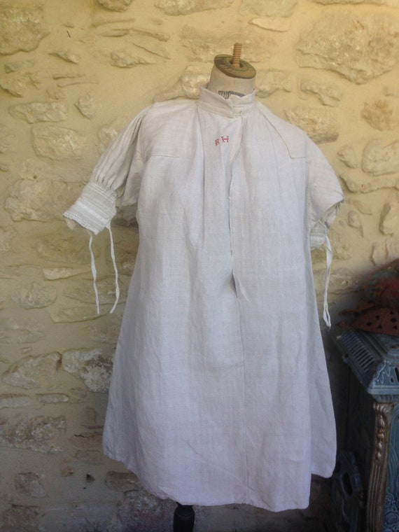 Antique peasant smock