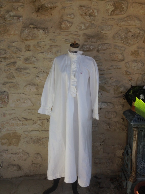 Antique french nightdress
