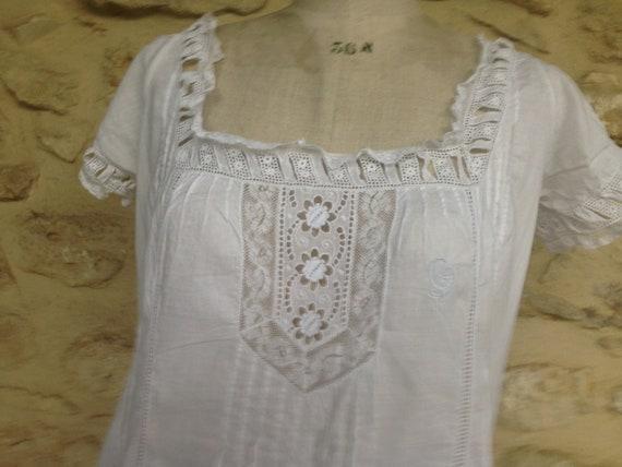 Antique french lingerie bridal trousseau 1900 gar… - image 2