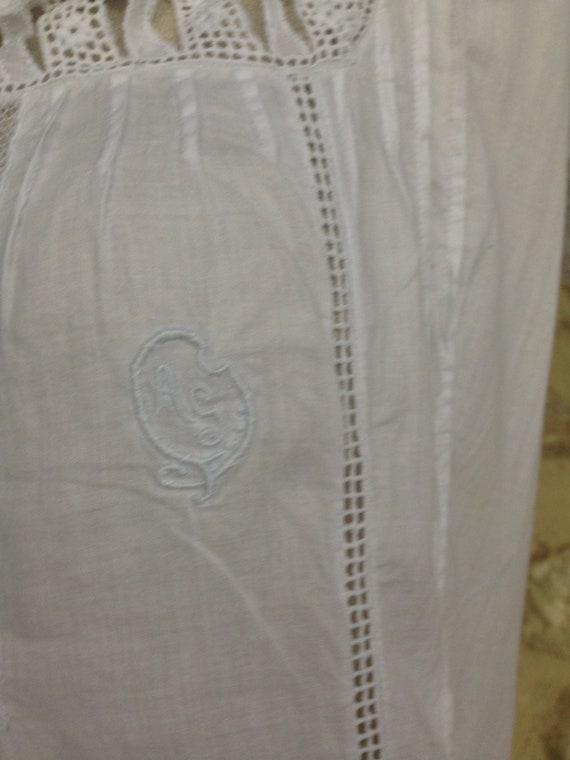 Antique french lingerie bridal trousseau 1900 gar… - image 6