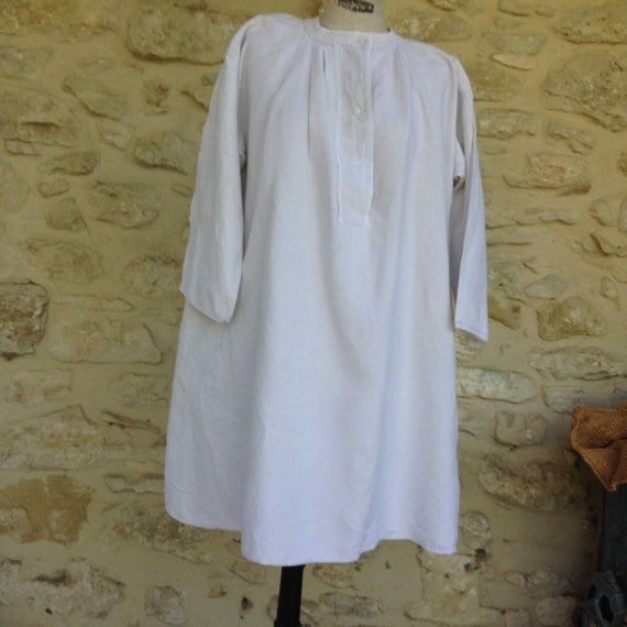 Antique French  Linen Smock