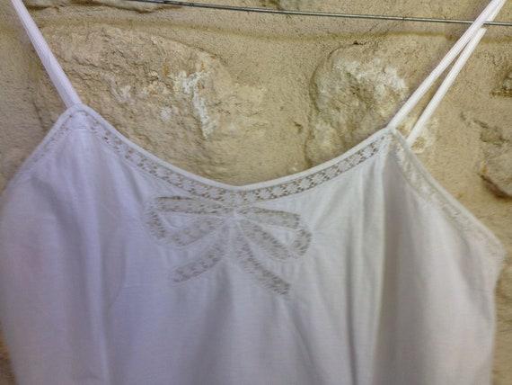 Vintage 1940 underdress petticoat - image 5